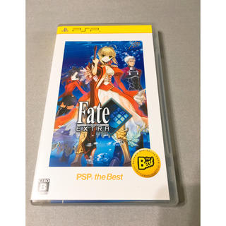 PSPソフト Fate/EXTRA 美品/説明書付き(携帯用ゲームソフト)