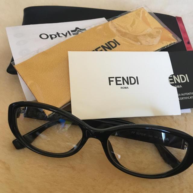 buy popular 87417 15c39 【FENDI】メガネ | フリマアプリ ラクマ