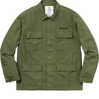 Supreme - Supreme /Hellraiser BDU Shirt -Olive L