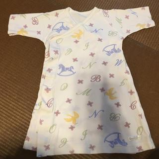 コンビミニ(Combi mini)の超美品♡combi miniベビードレス(カバーオール)