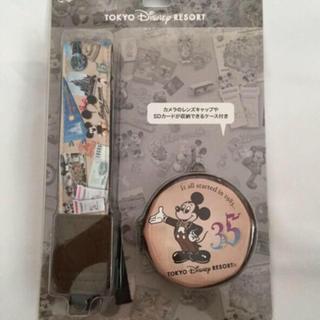 ディズニー(Disney)の35周年 カメラストラップ(デジタル一眼)