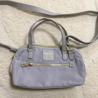 レガートラルゴ(Legato Largo)のレガートラルゴ★お財布バッググレー(ショルダーバッグ)