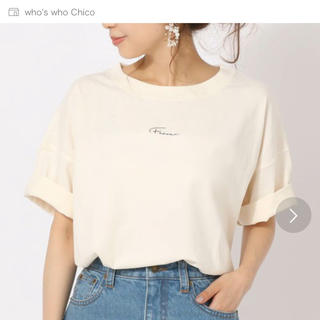 フーズフーチコ(who's who Chico)のwho's who Chico 今季(Tシャツ(半袖/袖なし))