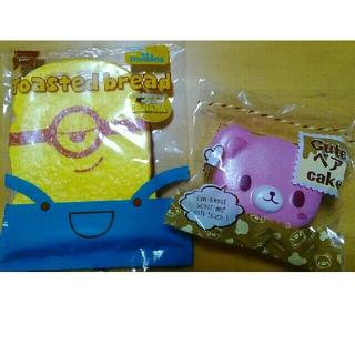 ミニオン(ミニオン)の新品未使用 cute ベア cake とミニオンのスクイーズ(その他)
