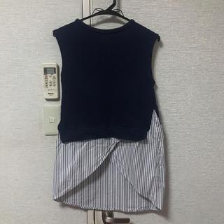 ムルーア(MURUA)のMURUA トップス(カットソー(半袖/袖なし))