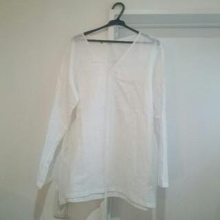 フォーティファイブアール(45R)の綿100 麻のような綿です。(シャツ/ブラウス(長袖/七分))