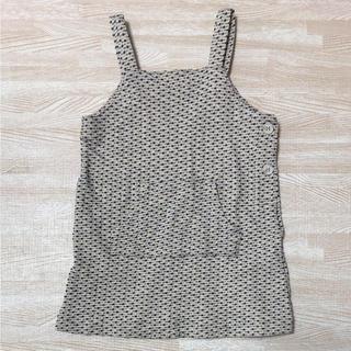 コンビミニ(Combi mini)の美品 コンビミニ ジャンパースカート 80(ワンピース)