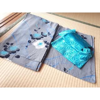 浴衣③ (作り帯セット)(浴衣)