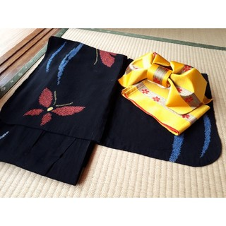 浴衣⑤ (作り帯セット)(浴衣)