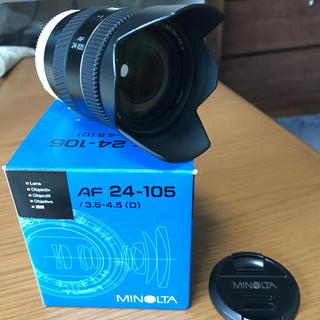 コニカミノルタ(KONICA MINOLTA)のミノルタ AF 24-105 / 3.5-4.5 D(レンズ(ズーム))