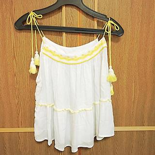 マンゴ(MANGO)のMANGO ノースリーブトップス(Tシャツ(半袖/袖なし))