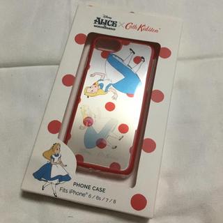 ディズニー(Disney)のキャスキッドソン アリス iPhoneケース コラボ ディズニー(iPhoneケース)