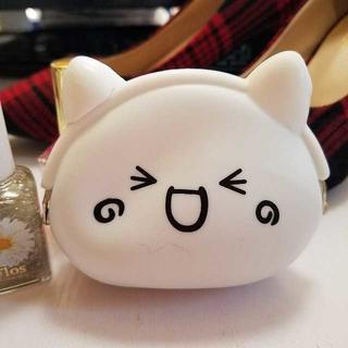 かわいい顔文字(*´∀`*)シリコンコインケース✩(その他)