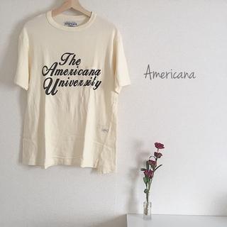 アメリカーナ(AMERICANA)のAmericana ︎︎◌ Tシャツ used(Tシャツ(半袖/袖なし))