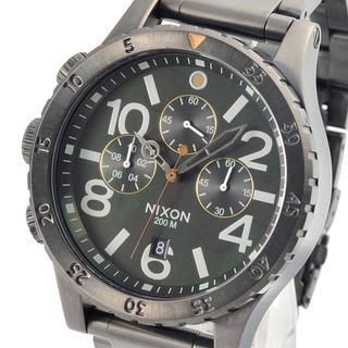 ニクソン(NIXON)の大人気シリーズ ✨完売続出✨ニクソン 腕時計 A486-2069 ブラック(腕時計)