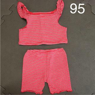 コンビミニ(Combi mini)のコンビミニ/Combimini 上下セット 95 遊び着セット(Tシャツ/カットソー)