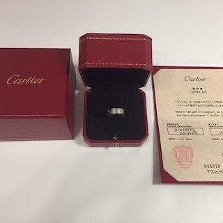 カルティエ(Cartier)のカルティエ  タンクフランセーズ(リング(指輪))