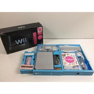 ウィー(Wii)の【限定価格】新品★任天堂 Wii 本体 リモコンプラス&パーティ 同梱版(家庭用ゲーム本体)