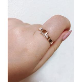 K10PGダイヤリング(リング(指輪))