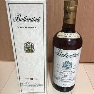 バランタインカシミヤ(BALLANTYNE CASHMERE)のバランタイン 30年 箱付き 43度(ウイスキー)
