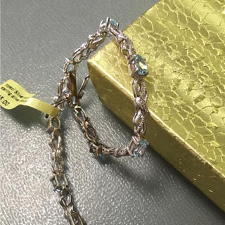 アヴァランチ(AVALANCHE)の天然石 定価1.2万 トパーズ ブレスレット シルバー 925 誕生石 11月(ブレスレット/バングル)