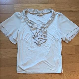 スタイルコム(Style com)のSTYLE COM☆カットソーサイズL(Tシャツ(半袖/袖なし))