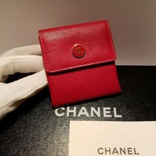 シャネル(CHANEL)の♦シャネル♦正規品♦ココボタン♦コインケース(コインケース)