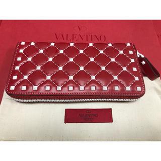 ヴァレンティノガラヴァーニ(valentino garavani)のヴァレンティノ  フリーロックスタッズ スパイクウォレット(財布)