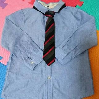 エイチアンドエム(H&M)のH&M シャツ、ネクタイセット(ドレス/フォーマル)