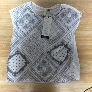 シマムラ(しまむら)の新品レディースTシャツ(Tシャツ(半袖/袖なし))