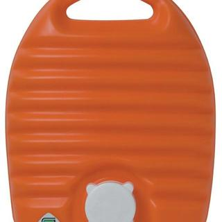 立つ湯たんぽ 2.6L 袋付き オレンジ(その他)