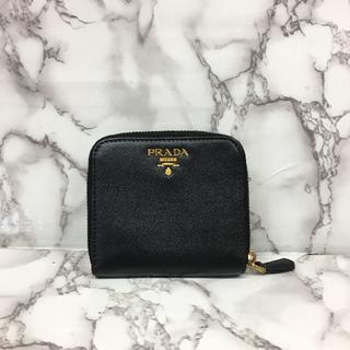 プラダ(PRADA)のプラダ サフィアーノ コンパクト財布(財布)