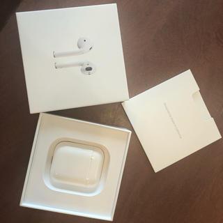 アップル(Apple)のAirPods Appleワイヤレスイヤホン 正規品(ヘッドフォン/イヤフォン)