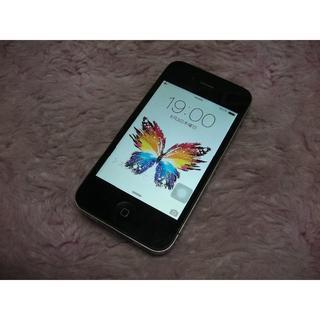 アップル(Apple)のiPhone4 16GB softbank No814 USB充電ケーブル付き(スマートフォン本体)