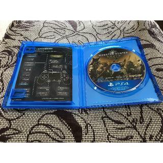任天堂 - 美品 送料込み PS4 モンスターハンターワールド