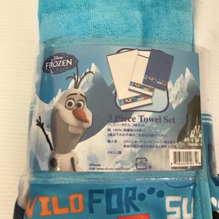 ディズニー(Disney)のディズニー タオル 3枚セット(タオル)
