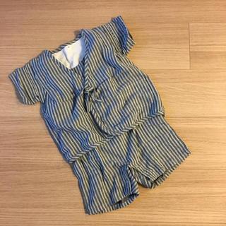 ムジルシリョウヒン(MUJI (無印良品))の無印 甚平 90サイズ(甚平/浴衣)