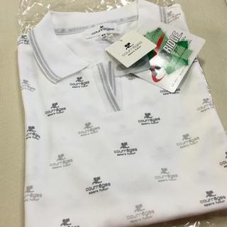 クレージュ(Courreges)の新品 クレージュ ポロシャツ / スポーツウエア/UV 13号 大きいサイズ(ウエア)