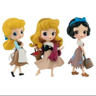 ディズニー(Disney)のQposket petit 白雪姫 オーロラ姫 シンデレラ フィギュア(アニメ/ゲーム)