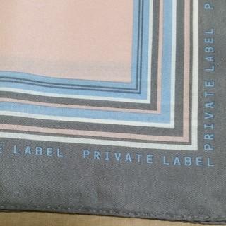 プライベートレーベル(PRIVATE LABEL)のprivatelabel☆スカーフ(バンダナ/スカーフ)