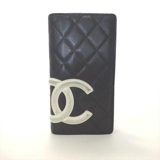 ルイヴィトン(LOUIS VUITTON)のシャネル 長財布 サイフ 折り財布 カンボンライン マトラッセ(財布)