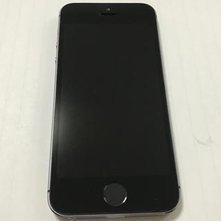 アップル(Apple)のiPhone5s 16GB 本体 ブラック(スマートフォン本体)
