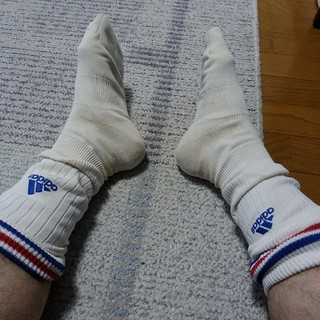 アディダス(adidas)のアディダスサッカーソックス(ウェア)