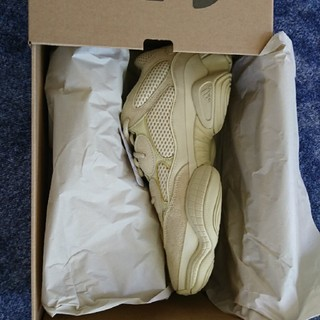 アディダス(adidas)のyeezy 500 supermoon yellow 28.5cm(スニーカー)