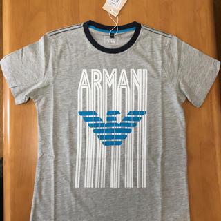 アルマーニ ジュニア(ARMANI JUNIOR)の本日値下げ!アルマーニジュニア  Tシャツ 新品タグつき  140(Tシャツ/カットソー)