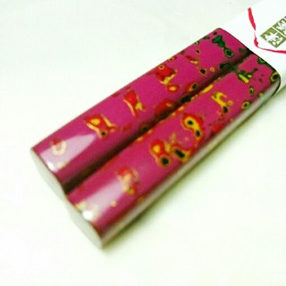 【津軽塗】木製唐塗箸 紫上(中・20.5cm)(カトラリー/箸)