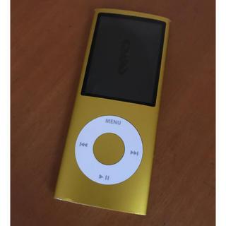 アップル(Apple)のiPod nano 第4世代 8GB(ポータブルプレーヤー)