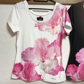 ダチュラ(DaTuRa)の新品♡DaTuRa♡ビッグフラワーTシャツ♡(Tシャツ(半袖/袖なし))