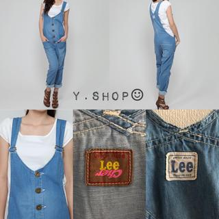 シェル(Cher)の定価¥27,000 Lee✖Cher デニムサロペット オーバーオール(サロペット/オーバーオール)