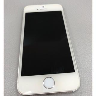 アップル(Apple)のiPhone 5s Silver 16 GB au(スマートフォン本体)
